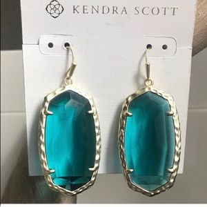 Kendra Scott London blue drop earrings